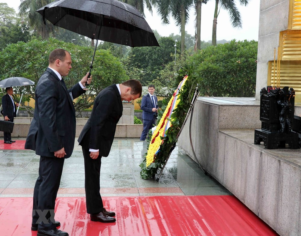 Thủ tướng Nga thăm Việt Nam,Thủ tướng Nguyễn Xuân Phúc,Nguyễn Xuân Phúc,Việt-Nga,quan hệ Việt-Nga