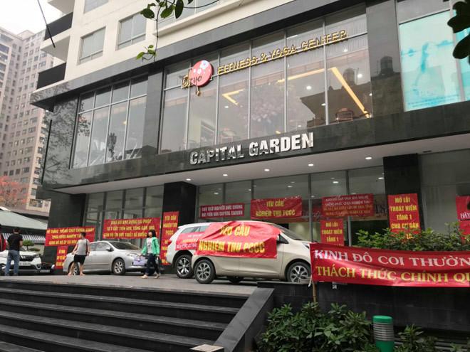Hà Nội công khai loạt chung cư 'dính' hơn 50 vi phạm phòng cháy chữa cháy0