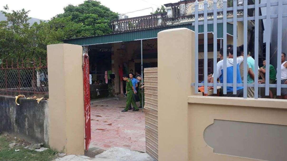Ra mở cổng, nam thanh niên Thanh Hóa bị chém chết