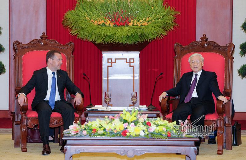 Quan hệ chính trị tin cậy Việt-Nga đang được củng cố vững chắc