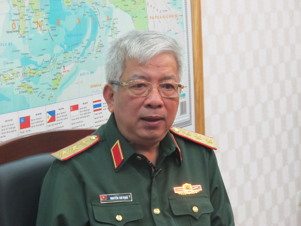 Việt-Trung,giao lưu biên giới Việt-Trung,Thượng tướng Nguyễn Chí Vịnh,Nguyễn Chí Vịnh