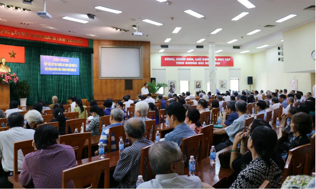 Tất Thành Cang,TP.HCM,tiếp xúc cử tri