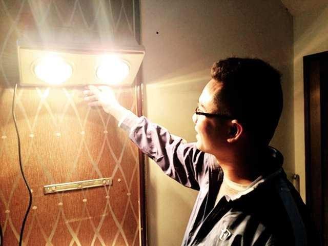 Đèn sưởi nhà tắm phát nổ: 'Quả bom' nguy hiểm khó lường