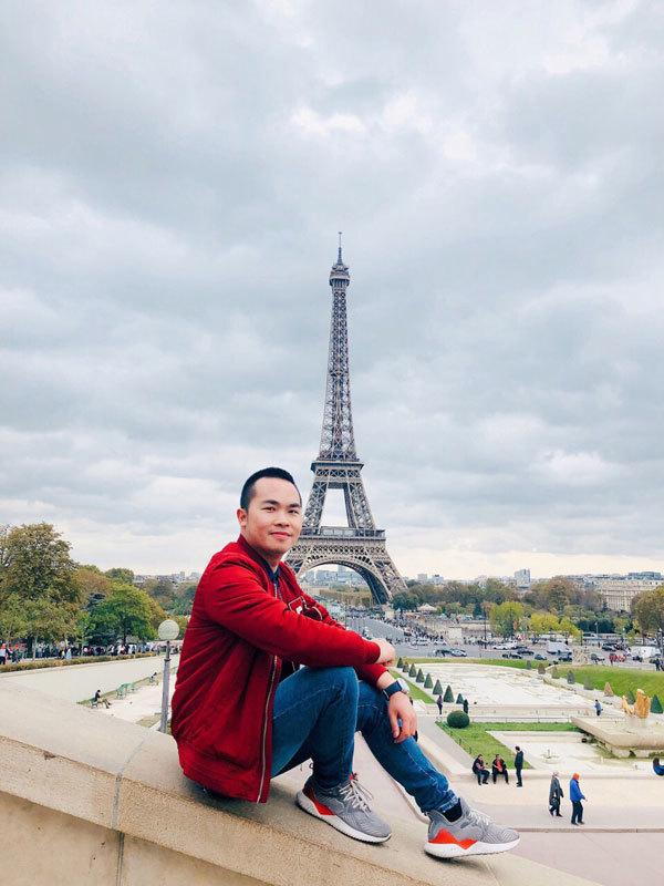 Chàng tiến sĩ trẻ đi gần 40 quốc gia