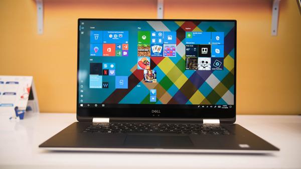 Trên tay Dell XPS 15 9575 siêu mỏng: Màn hình xoay 360 độ, giá 63 triệu đồng