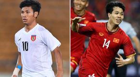 Đội hình Việt Nam vs Myanmar: Bất ngờ hàng công
