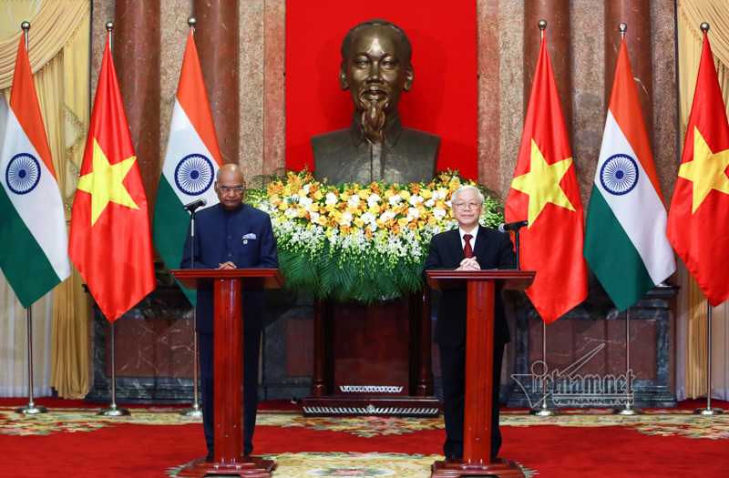 Tổng thống Ấn Độ: Tình cảm của người dân Việt chạm đến trái tim tôi