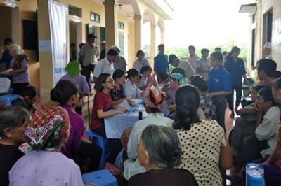 Hà Nội: 1.200 người dân tộc được chăm sóc sức khỏe miễn phí