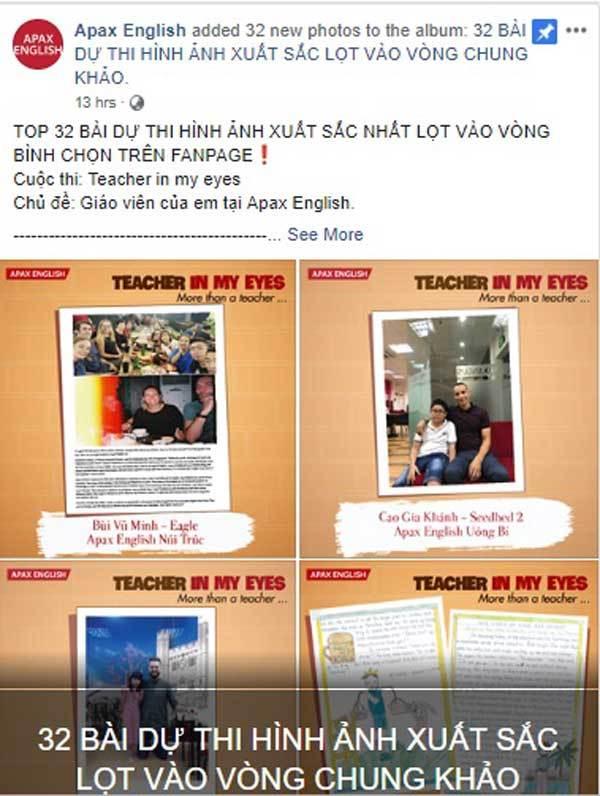 Ngày Nhà giáo Việt Nam,cuộc thi tiếng Anh