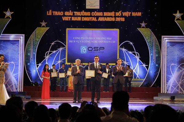 OSP nhận giải 'Giải pháp tiếp thị truyền thông hiệu quả'
