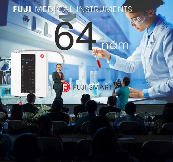 Tập đoàn Fuji Medical ra mắt máy nước kiềm Fuji Smart