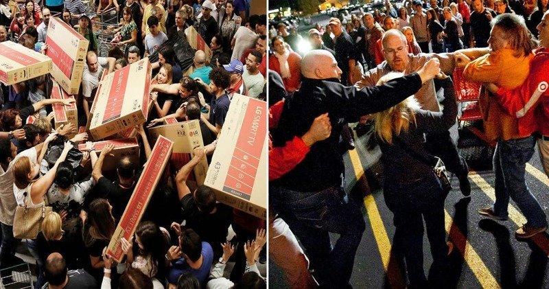 Tranh mua đồ giảm giá: Đám đông la hét, 1 người bị dẫm đạp đến chết