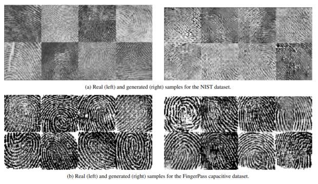 Trí tuệ nhân tạo có thể tạo ra vân tay giả đánh lừa các máy quét