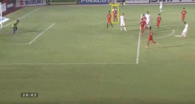 Video trọng tài Thái Lan 'cướp' bàn thắng của Văn Toàn