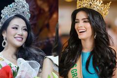 Hoa hậu Hoà Bình bị chỉ trích vì cười hả hê khi được khen đẹp hơn Phương Khánh
