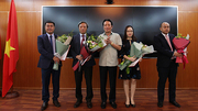 Trao quyết định bổ nhiệm 4 Phó tổng biên tập báo VietNamNet