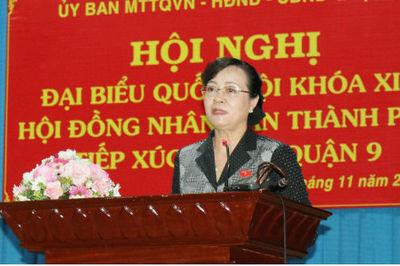 Bà Nguyễn Thị Quyết Tâm nói về sai phạm của ông Tất Thành Cang