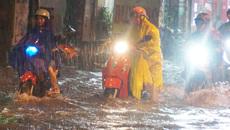 Bão trùng triều cường dâng cao, Sài Gòn có nguy cơ ngập nặng