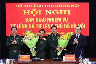 Bộ Tư lệnh Thủ đô có Tư lệnh mới