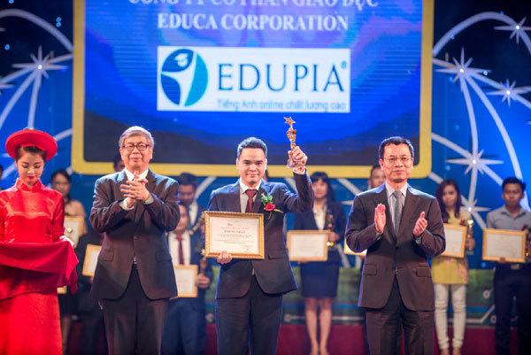 Edupia - Ứng dụng Công nghệ số Xuất sắc lĩnh vực GD-ĐT 2018