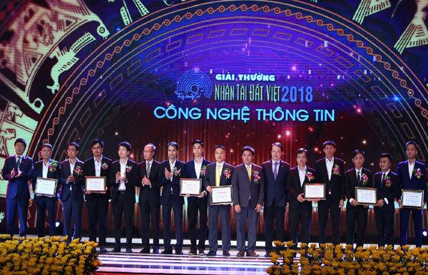 VNPOST-PA được vinh danh tại giải thưởng Nhân tài Đất Việt 2018