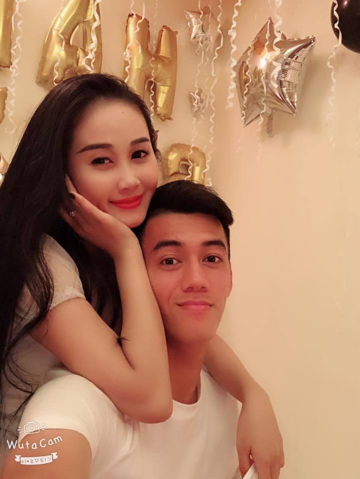 Cầu thủ Tiến Linh,AFF Cup 2018,Bạn gái cầu thủ