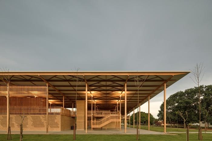 Ngôi trường vùng sâu vùng xa đạt giải kiến trúc danh giá thế giới