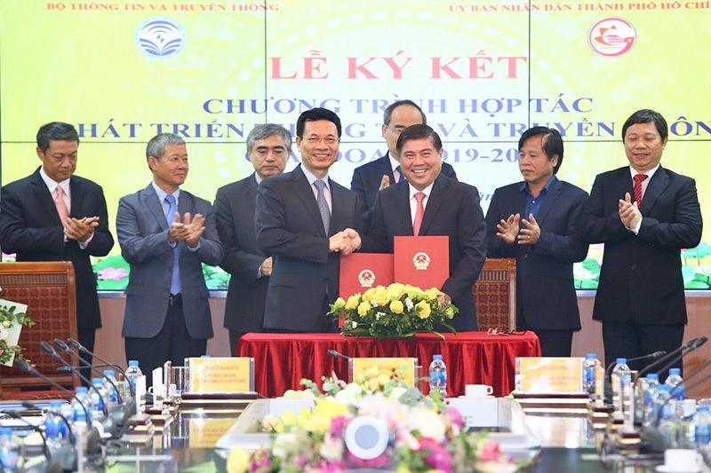5G,Bộ trưởng TT-TT,Nguyễn Mạnh Hùng,CNTT,an ninh mạng,TP.HCM