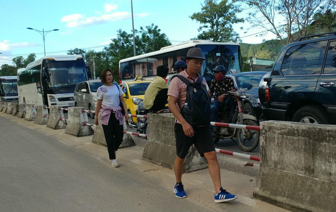 ùn tắc,kẹt xe,Nha Trang