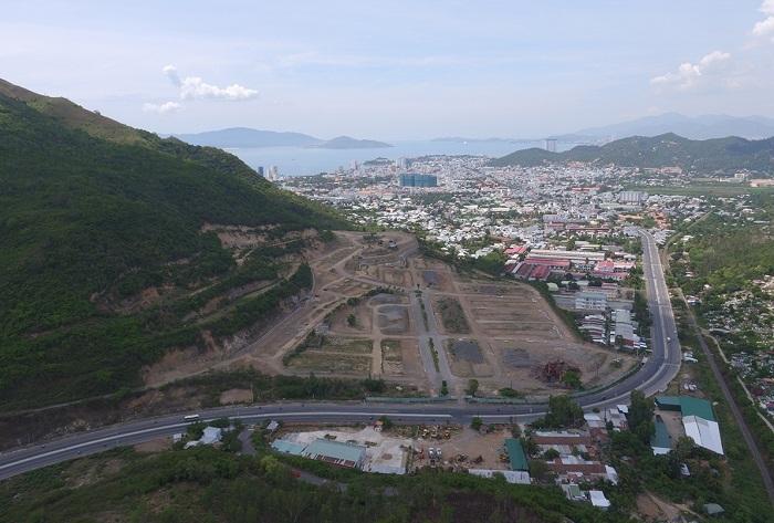 Toàn cảnh dự án nhà ở Hoàng Phú. Đây là 1 trong 35 dự án vừa bị Thanh tra Chính phủ thanh tra việc giao đất. (Ảnh: Internet)