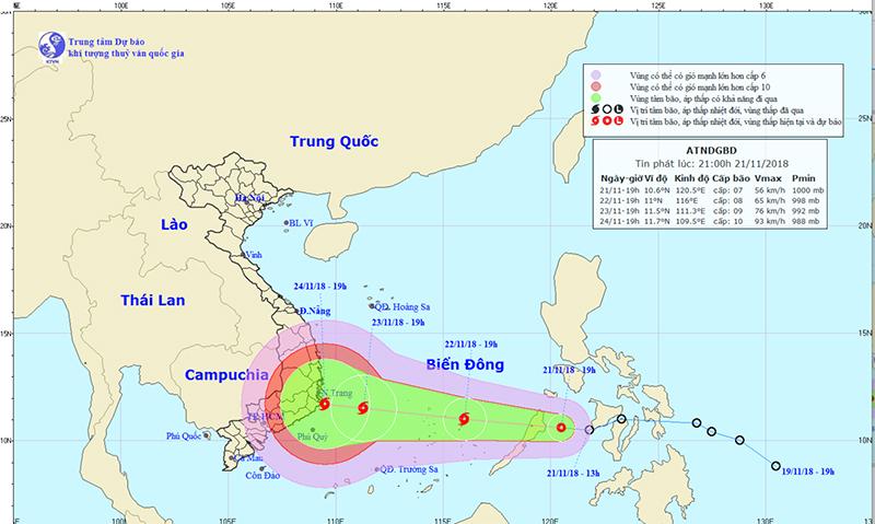 Dự báo thời tiết 22/11: Hà Nội mưa rét, đêm còn 17 độ