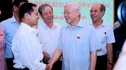 Mong Tổng bí thư, Chủ tịch nước đi các tỉnh tiếp xúc cử tri