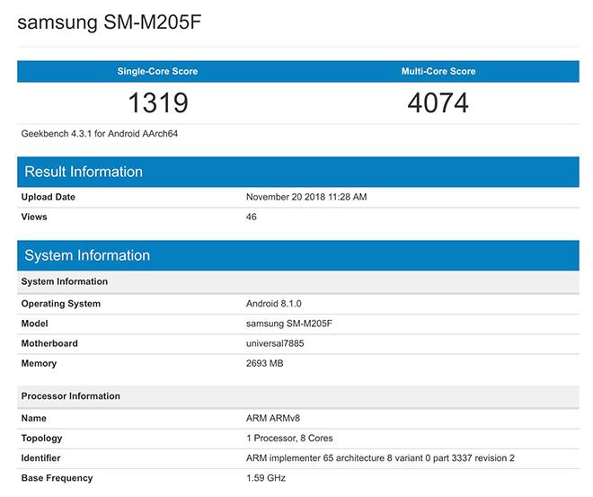 Tiết lộ điện thoại Galaxy M giá rẻ của Samsung