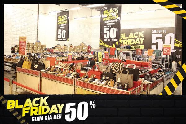 Aeon Black Friday- cơ hội mua sắm 'không thể bỏ lỡ'