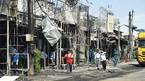 Hiện trường vụ cháy xe bồn chở xăng 6 người chết: Mọi thứ đều biến dạng