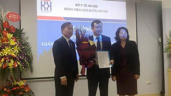 BV Ung bướu Hà Nội có giám đốc mới