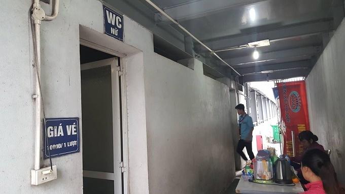 Nhà vệ sinh công cộng,Bến xe Giáp Bát