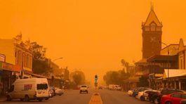 Đông nam Astralia như ngày tận thế vì bão cát