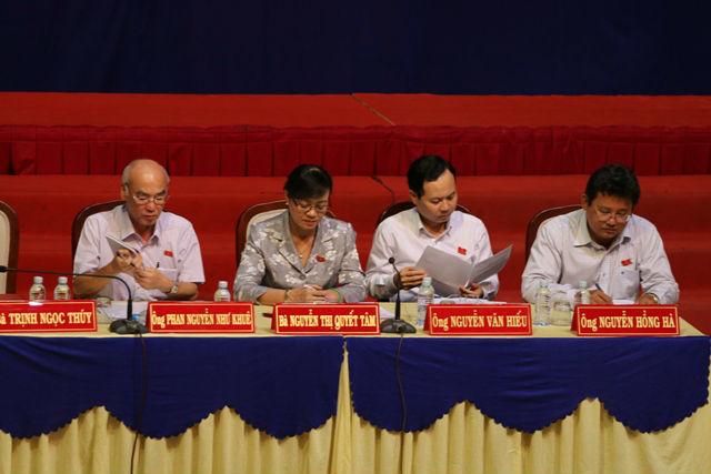 Cử tri TP.HCM truy trách nhiệm đại biểu QH về Thủ Thiêm