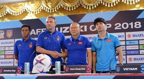 AFF Cup 2018: HLV Park Hang Seo và cuộc chiến trên 'ghế nóng'