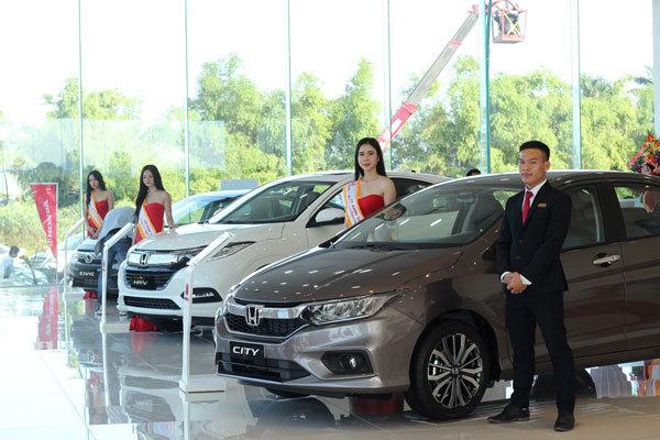 Thêm một đại lý ôtô Honda thứ 10 tại miền Trung