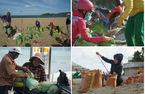 Nha Trang sau sạt lở: Dân đổ ra biển lấy cát gia cố nhà trước bão