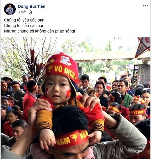 Quang Hải, Bùi Tiến Dũng: 'Tuyển Việt Nam không cần pháo sáng'