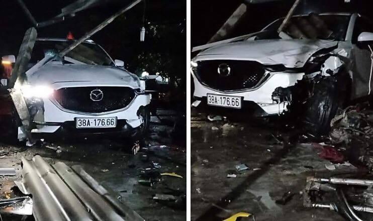 Hà Tĩnh: Phó phòng TN&MT lái ô tô tông chết người