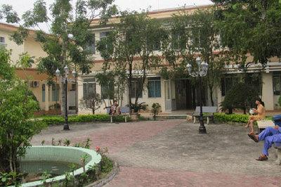 Những bệnh viện xanh như… công viên