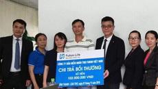 Mắc ung thư, khách hàng Fubon VN nhận 200% tiền bảo hiểm