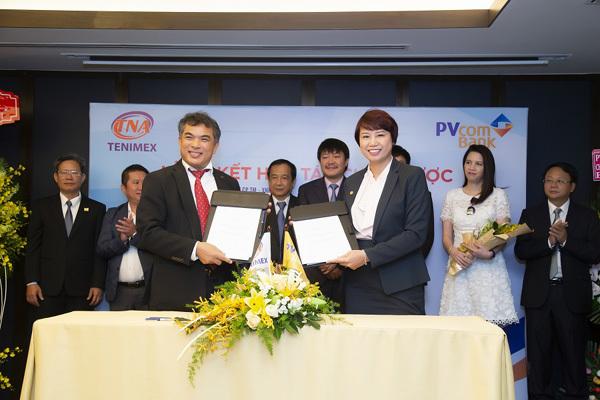 PVcomBank và Thiên Nam kí kết hợp tác chiến lược toàn diện