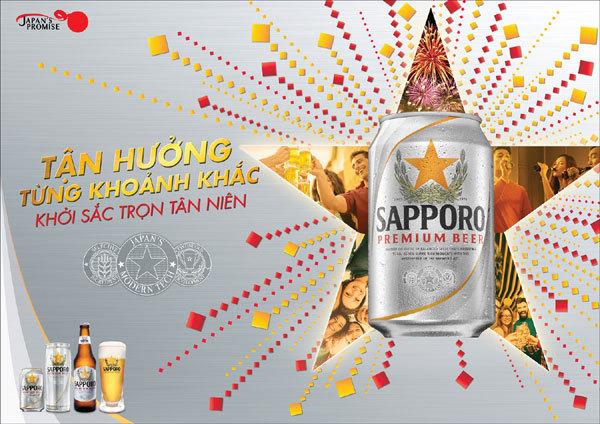 Sapporo lan tỏa thông điệp 'cuộc vui tùy chỉnh'