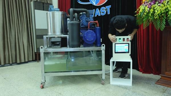 Cách mạng Công nghiệp 4.0,Made in Việt Nam,máy làm đá tuyết từ nước biển
