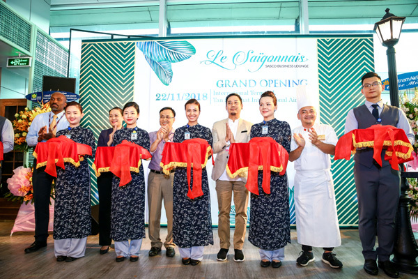 Khai trương phòng chờ thương gia Le Saigonnais tại Tân Sơn Nhất
